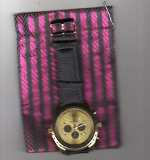 orologio crono-look Jay Baxter cinturino vera pelle-garanzia-nuovo- a 2131
