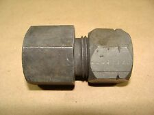 """Parker 12GBU-S 3/4"""" OD Tube X 3/4"""" NPTF Straight Compression Fitting Connector"""