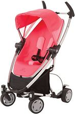 Quinny Zapp Xtra Folding Seat Stroller Pink Precious Brand New!! Open Box!!