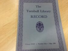 The Turnbull Library Record - Volume 24, Number 1, May 1991 #915
