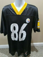 Pittsburgh Steelers Hines Ward Reebok Home Jersey #86 Medium New without tags