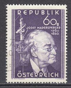 AUSTRIA used 1950 SC# Nr 571 Josef Madersperger - Inventor