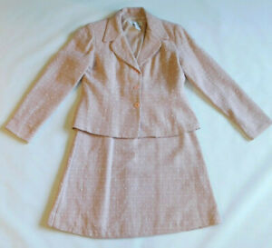 Vintage Chadwicks Pink 2 pc Skirt Suit~Good Condition~Must See!!!