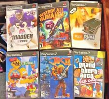 Playstation2 games, 2 for $2.25: Grand Theft III, Spiderman2, Hit & Run, 8 more