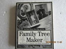 FAMILY TREE MAKER MANUAL-WINDOWS-BANNER BLUE-1994