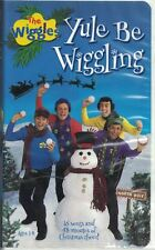 Wiggles Yule Be Wiggling VHS, 2001 Christmas Cheer 16 Songs & 48 min Clam Shell