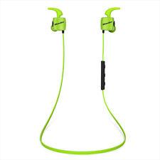 Neuf Bluedio TE (Turbine) Écouteur de Sport Course Bluetooth 4.1 sans fil (Vert)