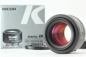 [Almost MINT in Box] SMC PENTAX FA 50mm f/1.4 AF Standard Prime Lens From JAPAN