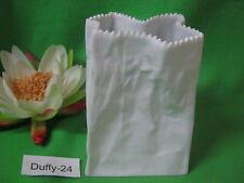 Tütenvase weiß 18 cm von Rosenthal
