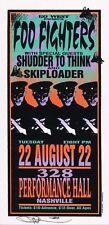 Mint & Signed Foo Fighters 1995 Nashville Arminski Handbill