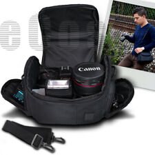 Digital Camera Carrying Bag Case For Canon EOS Rebel T6i T6s T7 T7i 750D 760D