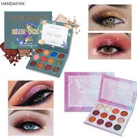 Belleza Brighten Powder Eye Cosmetics Paleta de sombra de ojos Brillo perlado