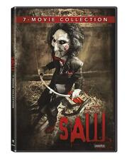 Saw 1, 2, 3, 4, 5, 6 & 7 (The Final Chapter) DVD 7 movie Collection R1