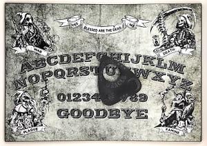 A4 Wooden Four Horsemen of the Apocalypse Ouija Board + Mystic Oracle Planchette