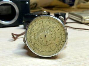 Logarithmic Ruler KL-1 Soviet Circular Slide Rule Calculator USSR