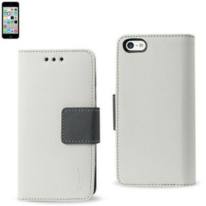 """Reiko iPhone 6 4.7"""" Leather Flip Case 3-In-1 Wallet w/Card Holders Cover & Stand"""