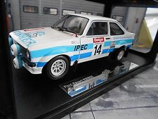 Ford Escort MKII RS 1800 2.0 Rallye #14 Fisher 1981 BEL Ypres Vimy Sunstar 1:18
