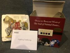 Autographed! The Trail of The Painted Ponies Runs The Bitterroot 12280 Nib