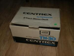 Pioneer CENTREX TH-30 8-Track Player - NICE! - w/box!