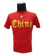 Majestic Boy's Junior China Wbc T-Shirt (Large, Red)