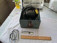 Dumore Tool Post Grinder 4 Belts 114hp Tom Thumb Ob Runs Great
