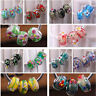 5pcs Lampwork Glass Large Hole Murano Fit European Charms Bracelet Loose Beads
