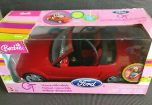 Barbie Red Ford Mustang GT Convertible Car NEW & BOXED Read