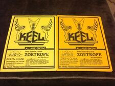 Keel, Zoetrope Concert Flyer (2)- Chicago Metro-80's
