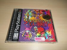 Silhouette Mirage Brand New Factory Sealed Playstation PS1 Black Label