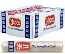 4 Rolls NECCO Candy Wafers Assorted Original Candy Flavor 2 Oz. NEW!