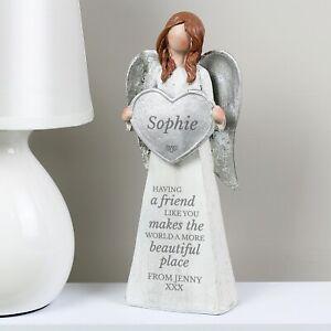 Personalised Friendship Angel Ornament Birthday A friend like you Mum Thank you