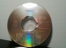 Microsoft Encarta 98 Encyclopedia Software (1998, Microsoft)