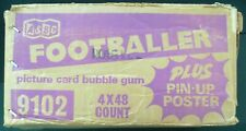 A&BC - EMPTY FOOTBALL BUBBLEGUM PICTURE CARD BOX - CARDBOARD BOX