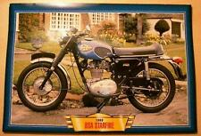 BSA STARFIRE 250 SINGLE VINTAGE CLASSIC MOTORCYCLE BIKE 1960'S PICTURE 1969