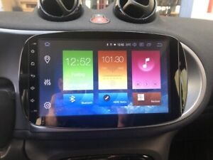GPS 9 Inch Multimedia PX6 Android 10 USB Smart Fortwo Forfour 453