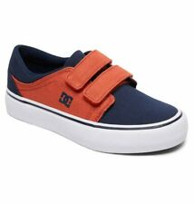 Tg 32 - Scarpe Bimbo Bambino DC Trase V Blu Indigo Sneakers Schuhe Skate 2019