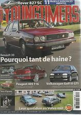 YOUNGTIMERS 63 R30 TS TX GOLF III GTI PEUGEOT 405 T16 ROVER 827 SC SIMCA 1100