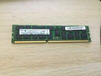 4GB 2Rx4 PC3-10600R Samsung M393B5170FH0-CH9Q5 Server Memory RAM ECC Reg