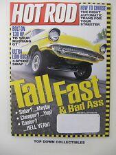 Hot Rod Magazine    August   2000     Don Holder   '39 Ford Deluksh