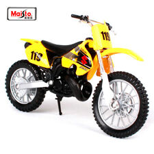 Suzuki RM 250 1:18 Kids Diecast Dirt Bike Motocross Motorbike Motorcycle Toy NEW