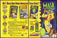 THE MASK__Original 1995 Trade print AD / video promo__FRANK WELKER__ROB PAULSEN