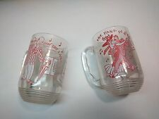 VINTAGE Song Lyric Mugs THE BAND PLAYED ON & How Dry I Am