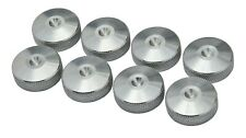 More details for precisiongeek 8x xlarge cnc knurled aluminium speaker spike pads shoes feet