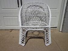 Chair Woodard Vintage Spun Fiberglass Garden Armchair Mcm Regency Armchair Patio