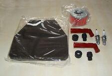 Honda CB250N CB400N CB250T CB400T Service Kit Plugs Red Caps Air & Oil Filter