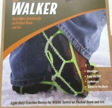 Yaktrax Walker 1 Pair Size M Outdoor Winter Safety Ultralight Glows Spikeless