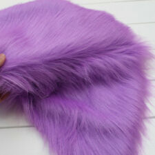 Luxury Long Haired Pile Plush Faux Fur Fabric Jewelry Display Props Rooms Adort