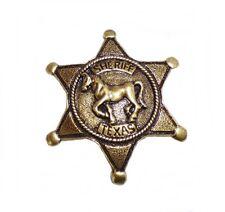 Ele pin sheriff estrella sheriff caballo Texas Western country salvaje oeste