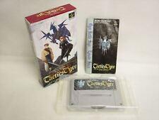 TACTICS OGRE Item Ref/bcb Super Famicom Nintendo Japan Boxed Game sf