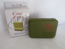 RICHARD WHEATLEY COMP LITE FLY BOX INCLUDING SELECTION OF FLIES and box